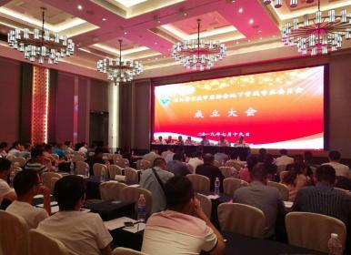 四川省市政市容协会地下管线专业委员会成立大会