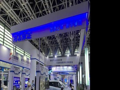 金迪风电叶片内窥检测机器人亮相2021西部数字经济博览会